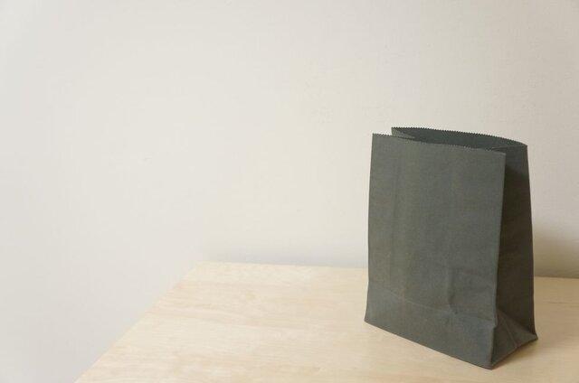 紙袋風布袋:オリーブの画像1枚目