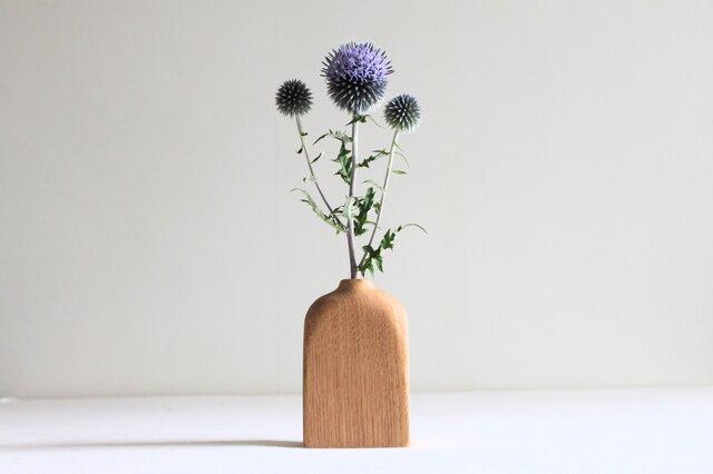 木の花瓶【クリ】の画像1枚目