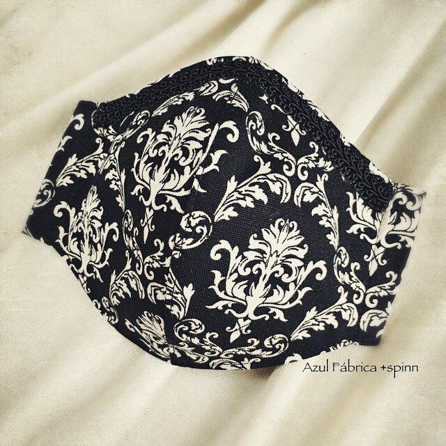 立体マスク:victorian (black)の画像1枚目