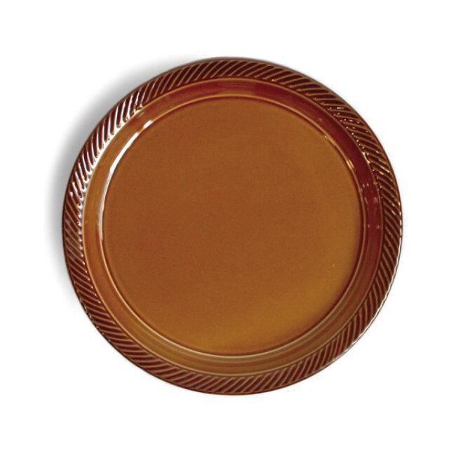 blur 24cmプレート Brownの画像1枚目