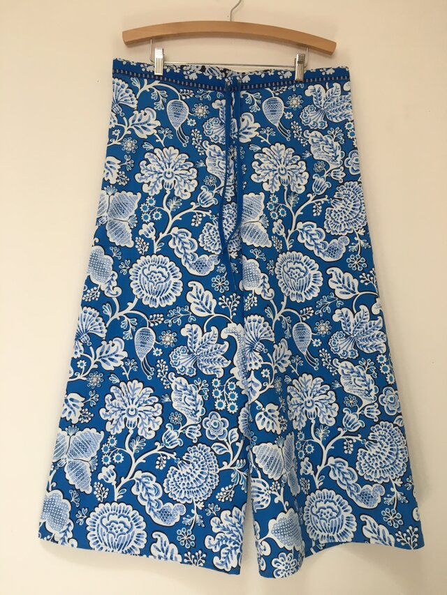 Tropical blue ワイドパンツ (再出品)の画像1枚目