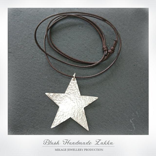 〚 star 〛sv925 star pendantの画像1枚目