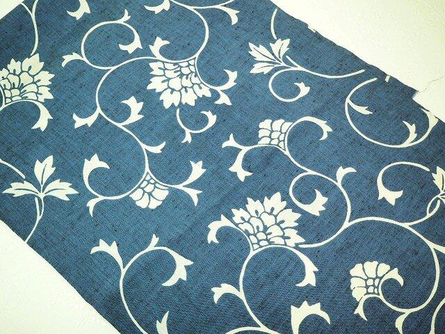 0041 セミオーダー用 浴衣布 木綿 古布古裂 着物リメイク kimono     *ご希望の型をお選びくださいの画像1枚目