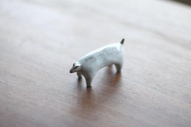 犬のオブジェの画像1枚目