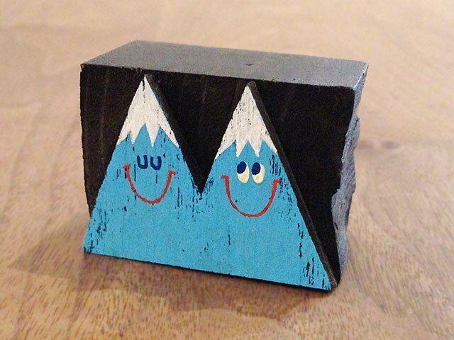 #014 木のブロックシリーズ - TWIN PEAKSの画像1枚目