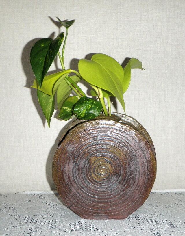 花器~扁壺(N-171)の画像1枚目