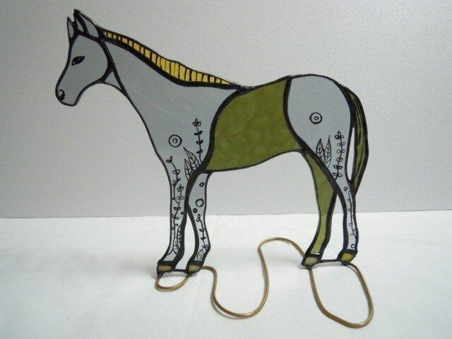 馬の置物の画像1枚目
