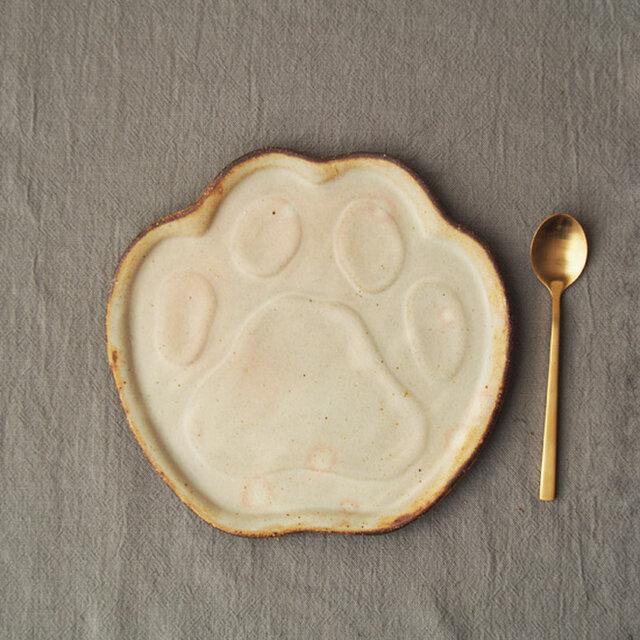 粉福にゃんのふみふみ皿の画像1枚目