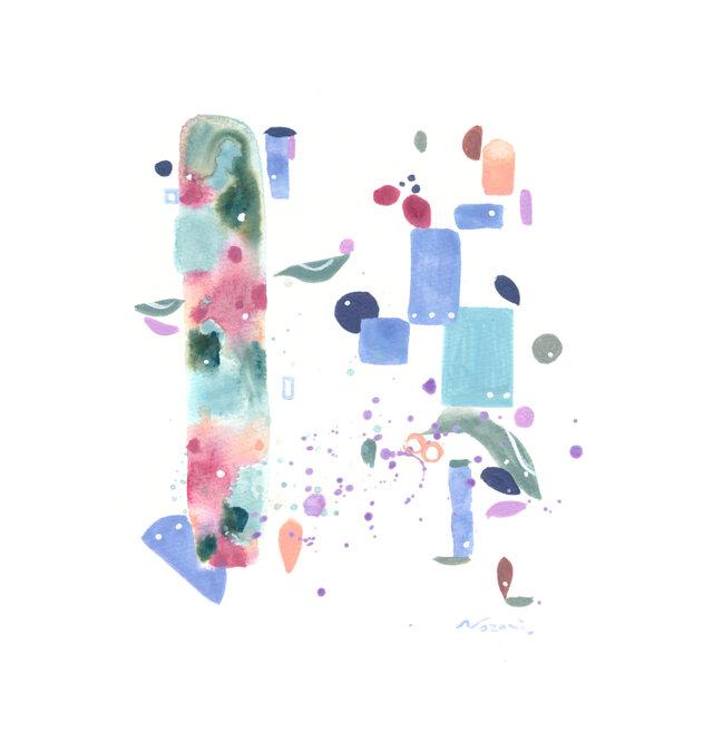 『夏音色』・インテリア アートの画像1枚目