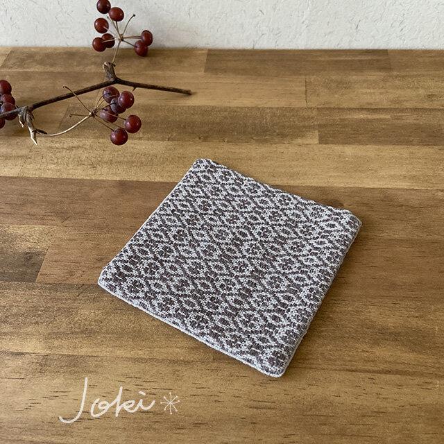 Coaster[リネン手織りコースター] 栗色の画像1枚目