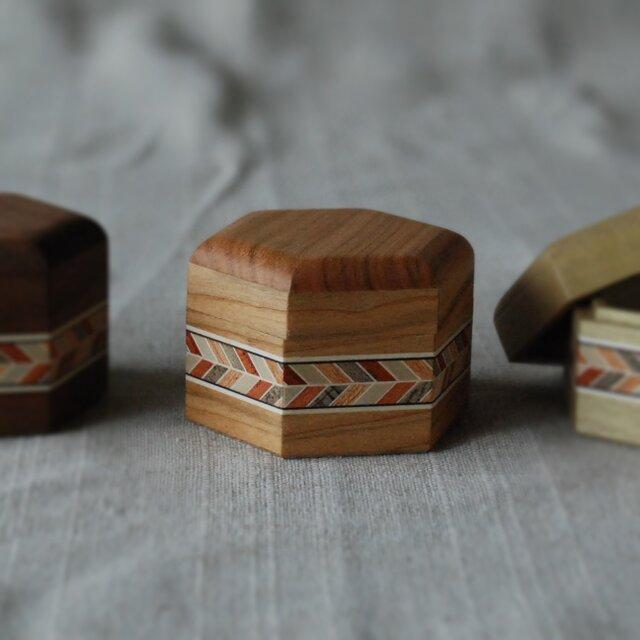 六角小箱(小、桜)の画像1枚目