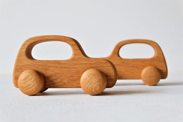 木の車(オーク)Aタイプの画像1枚目