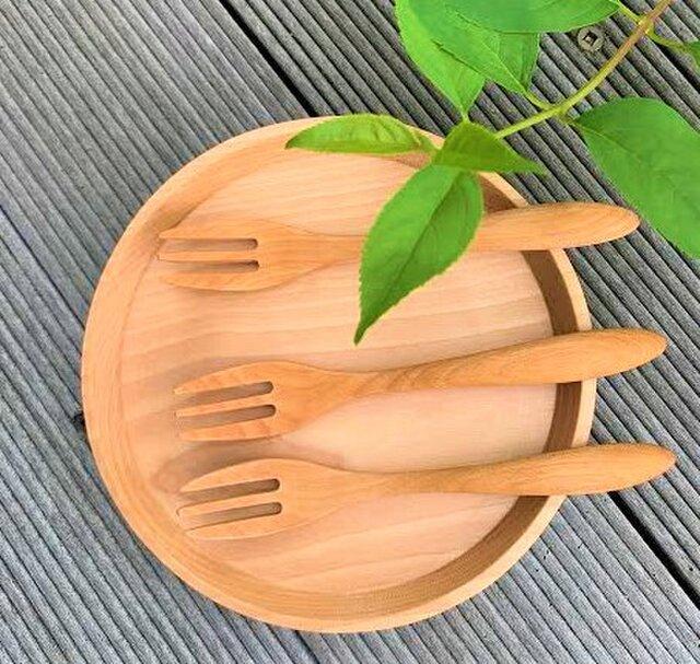 木のフォーク - 0039 桜 ( さくら )の画像1枚目