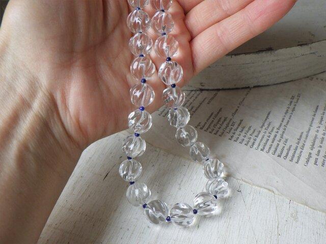 とろける水晶のネックレスの画像1枚目