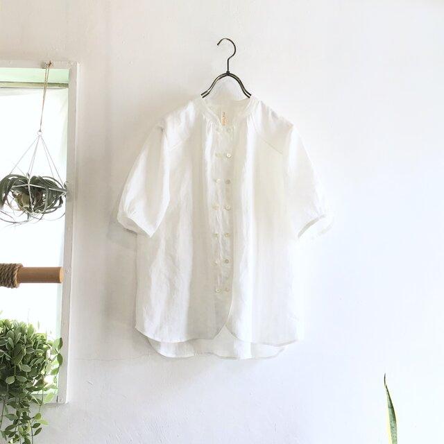 cook P blouse  (white)の画像1枚目