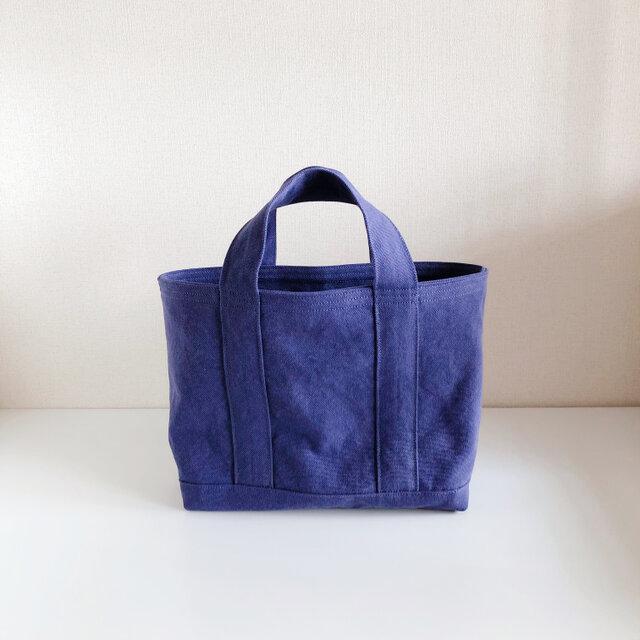 TOTE BAG (M) / purpleblueの画像1枚目