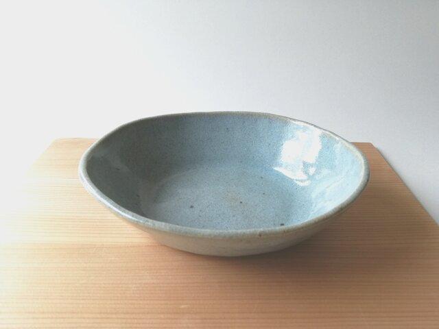松灰釉オーバル中鉢の画像1枚目