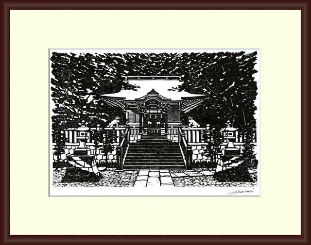 鎌倉/長谷・御霊神社(No H-42)の画像1枚目