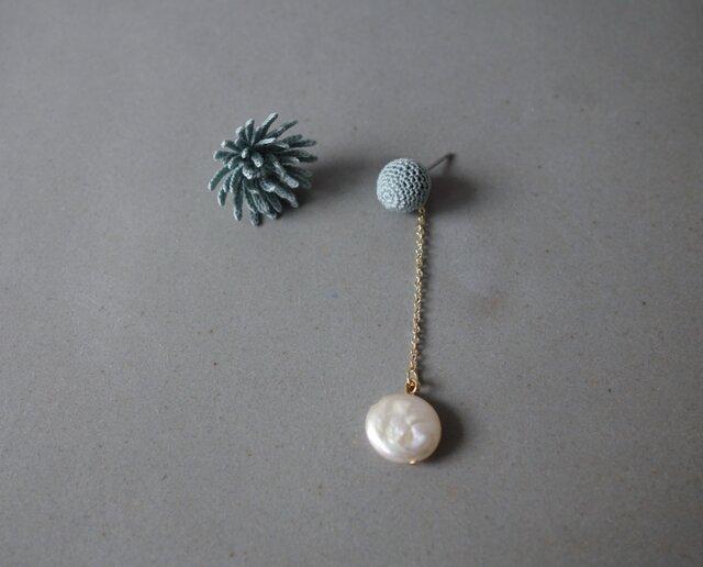 ohana & coin pearl mist greenの画像1枚目