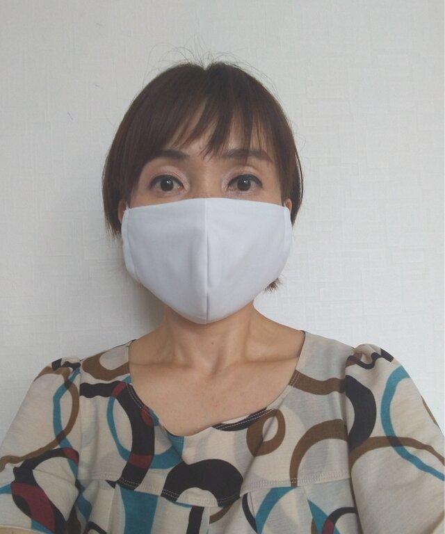 【即日発送可能】呼吸する快適夏マスク(女性用グレージュ)の画像1枚目
