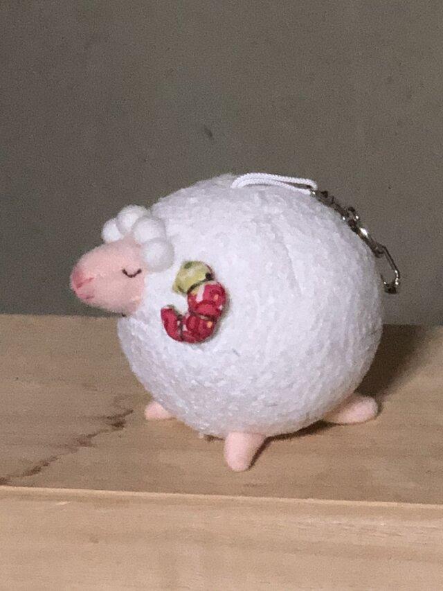 羊キーホルダーの画像1枚目