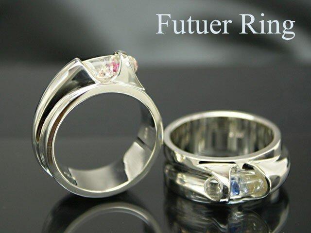 PX-G Silver Future Ringフューチャーリングの画像1枚目