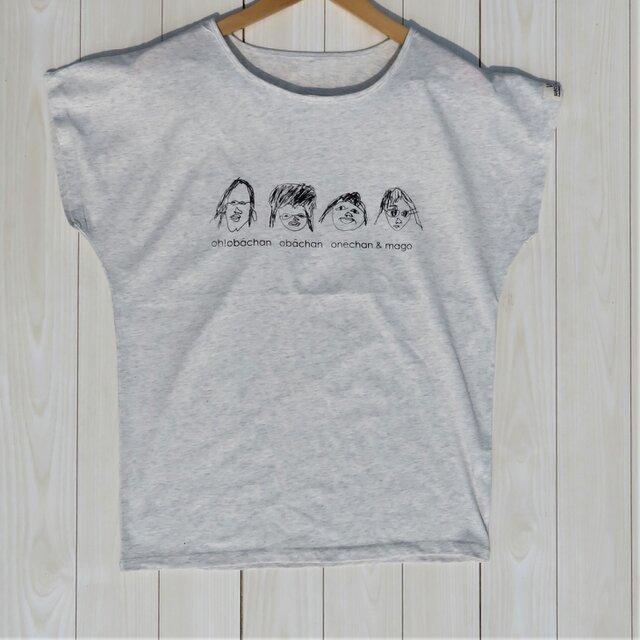 おばあちゃんプリントTシャツの画像1枚目
