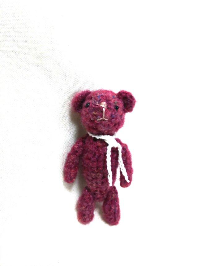 クマさんの編みぐるみの画像1枚目