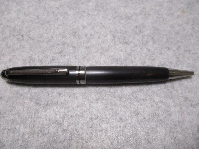 アフリカンブラックウッド 回転式ヨーロピアンボールペン の画像1枚目
