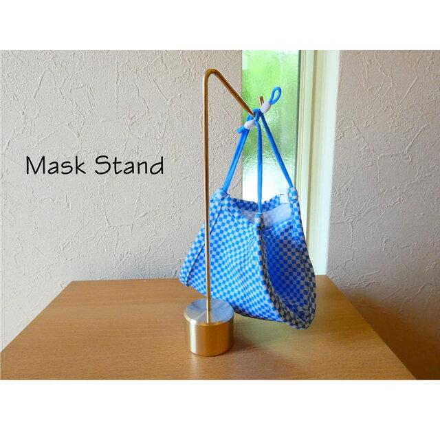 マスク掛け type22 通販 |マスクスタンド 秋マスク コットン リネン シルク ガーゼマスク 収納の画像1枚目
