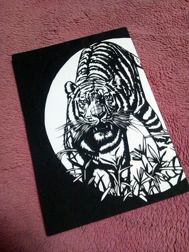 ノート(虎)の画像1枚目