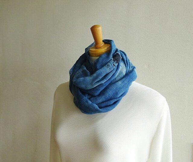 襤褸を遊ぶ蚊帳スカーフの画像1枚目