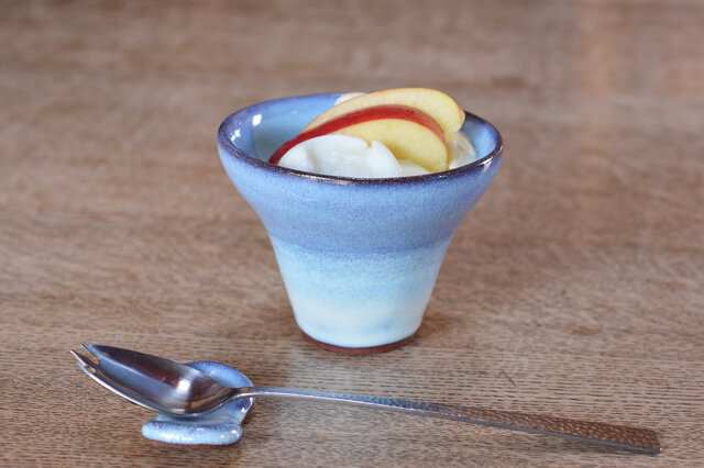 YuRa デザートカップ[雪の青]の画像1枚目