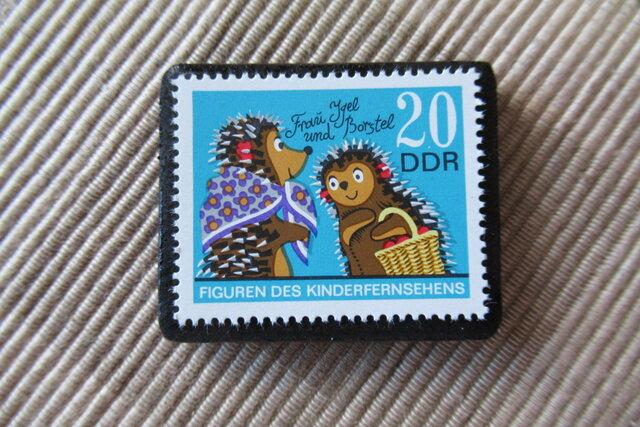 ドイツ 童話  切手ブローチ 6403の画像1枚目