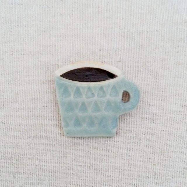 コーヒーカップブローチの画像1枚目