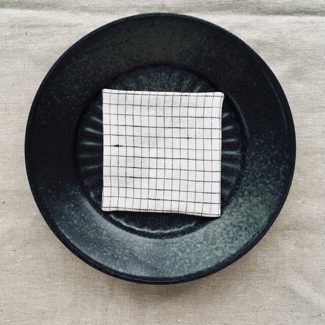 リネンコースター  Grid-Sの画像1枚目
