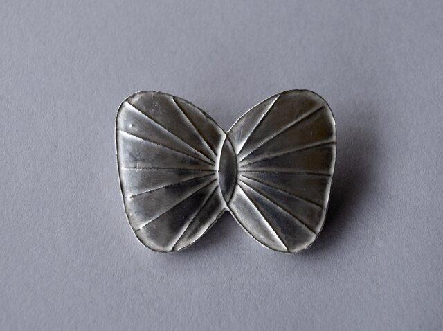 ブローチ(銀彩) 蝶-1の画像1枚目