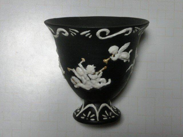 天使の飾壺の画像1枚目