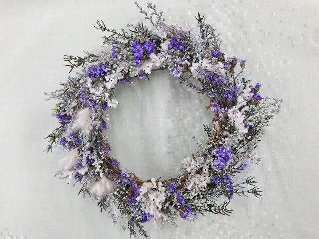 ミニリース Purpleの画像1枚目