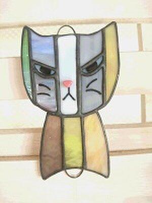猫のサンキャッチャー 3兄弟の画像1枚目