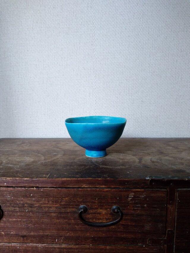 トルコ青 小鉢の画像1枚目