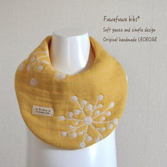 fuwafuwaまあるいバンダナスタイ*yellowの画像1枚目