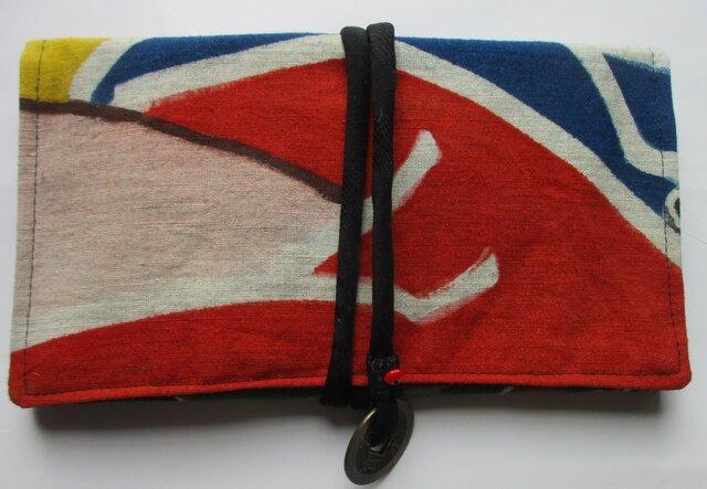 5056 五月旗で作った和風財布・ポーチ #送料無料の画像1枚目