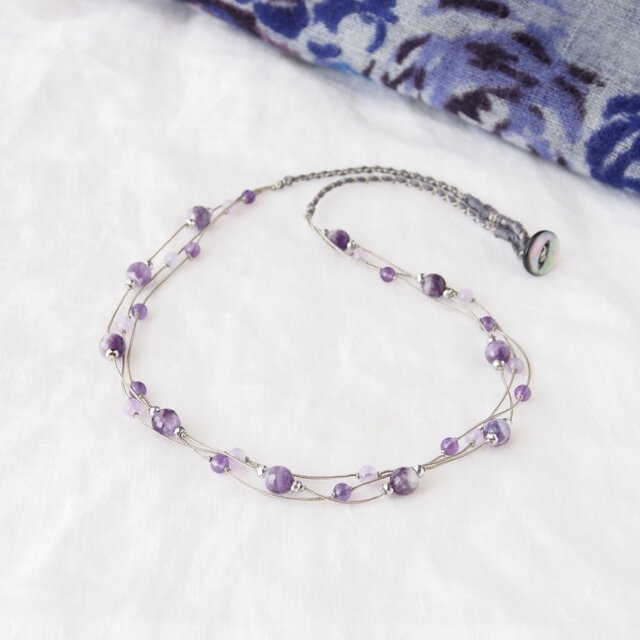 Collier Violet(アメジスト)の画像1枚目