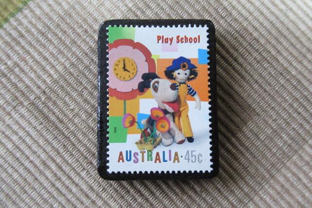 オーストラリア 切手ブローチ6437の画像1枚目