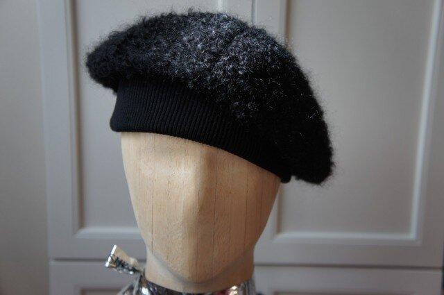 ふわもこ!あったかベレー帽。の画像1枚目