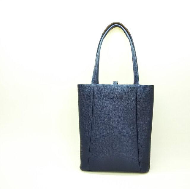 【A4サイズ収納可】肩掛けできる!たて型バッグ 12色から選んで作れます*受注製作*の画像1枚目