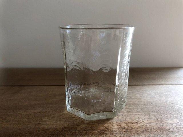 八角ウイスキーグラスの画像1枚目