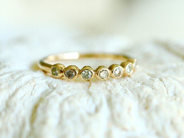 K10[brugge]ダイヤモンドringの画像1枚目