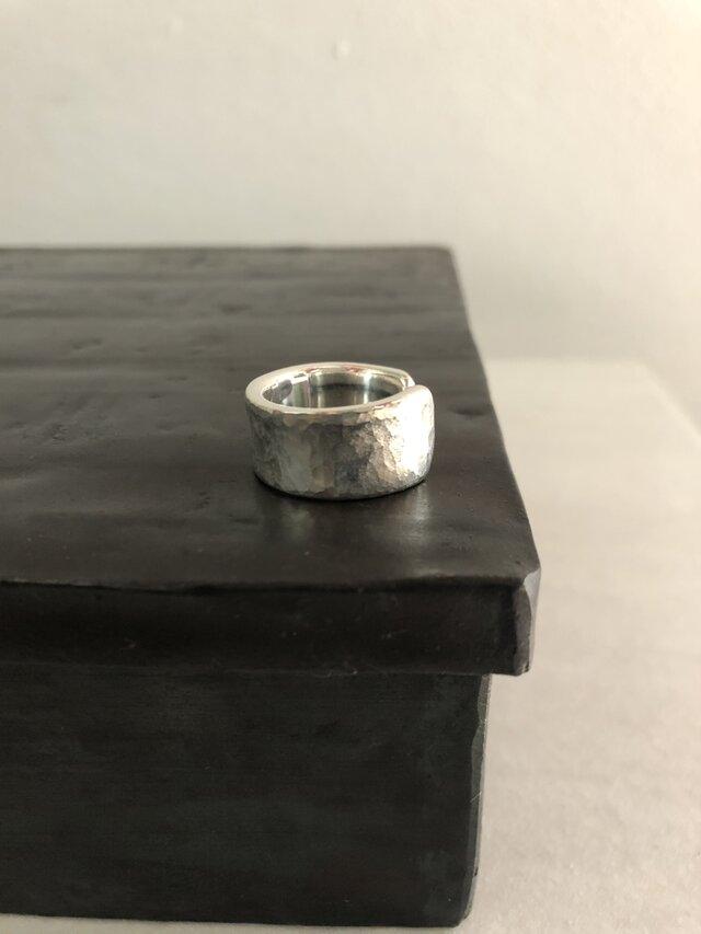 アシンメトリーring  silverの画像1枚目